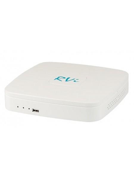 RVi-IPN4/1-4P 4-х канальный IP-видеорегистратор со встроенным POE на 4 порта