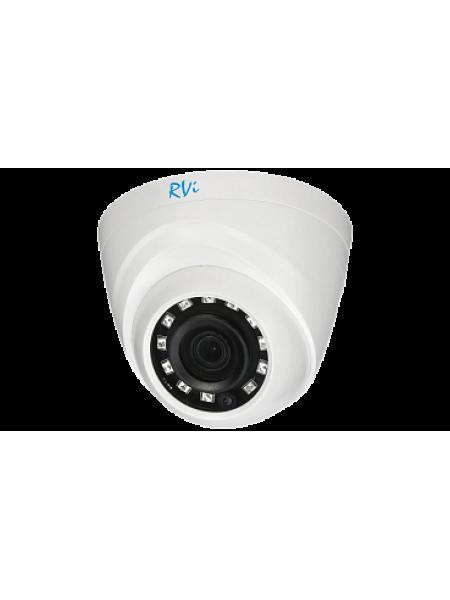 Купольная мультиформатная камера видеонаблюдения RVi-HDC311B (3.6)