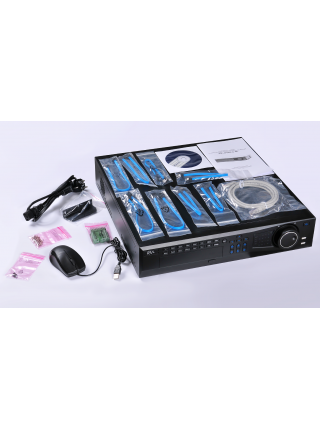 IP-видеорегистратор (NVR) RVi-IPN64/8-4K