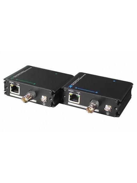 Приемопередатчик Ethernet сигнала с PoE RVi-PE
