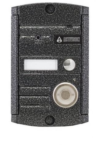 Видеопанель вызывная накладная цветная на 1 абонента Activision AVP-451 (PAL, антик)
