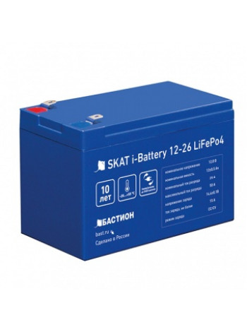АКБ Бастион Skat i-Battery 12-26 LiFePo4