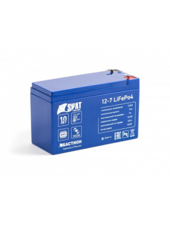 АКБ Бастион Skat i-Battery 12-7 LiFePo4