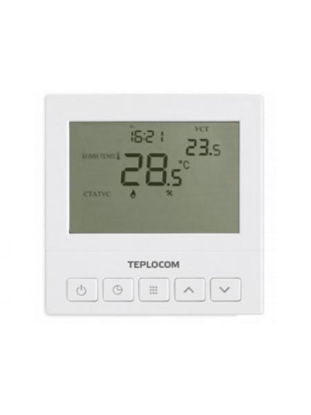 Термостат комнатный Бастион Teplocom TS-Prog-220/3A
