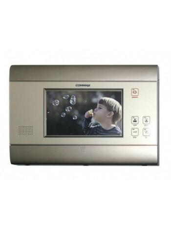 Видеодомофон цветной Commax CAV-706D (серый)