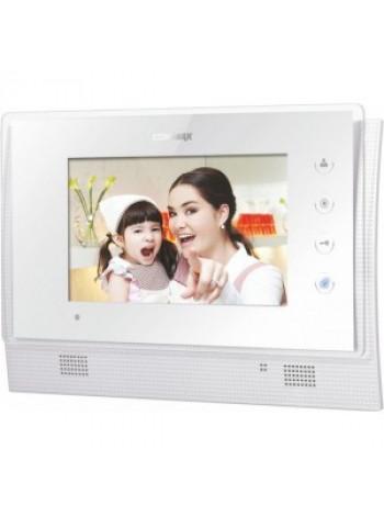 Видеодомофон цветной Commax CDV-70U/Vizit (белый)