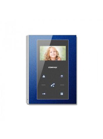 Видеодомофон цветной Commax CMV-43S (синий)