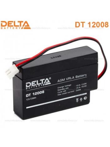 Аккумулятор свинцово-кислотный Delta DT 12008 Т13