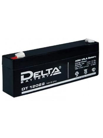 Аккумулятор свинцово-кислотный Delta DT 12022