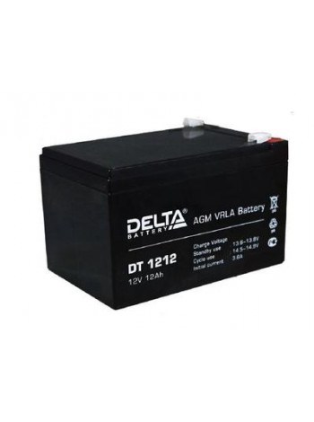 Аккумулятор свинцово-кислотный Delta DT 1212