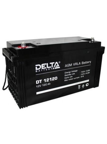 Аккумулятор свинцово-кислотный Delta DT 12120