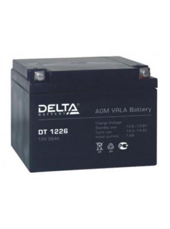 Аккумулятор свинцово-кислотный Delta DT 1226