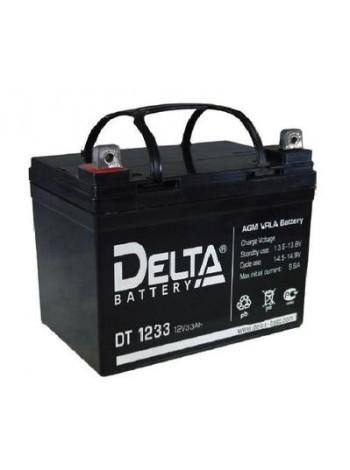 Аккумулятор свинцово-кислотный Delta DT 1233