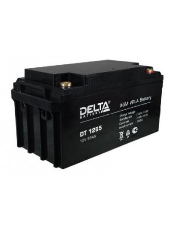Аккумулятор свинцово-кислотный Delta DT 1265