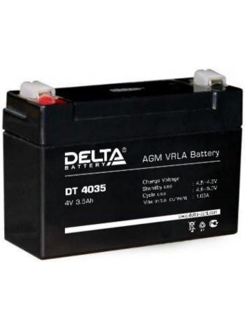 Аккумулятор свинцово-кислотный Delta DT 4035