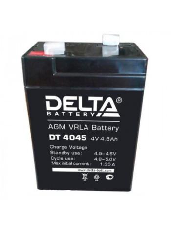 Аккумулятор свинцово-кислотный Delta DT 4045