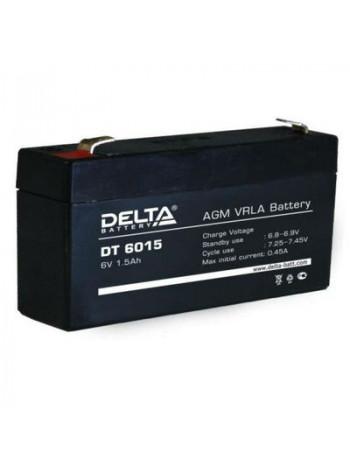 Аккумулятор свинцово-кислотный Delta DT 6015
