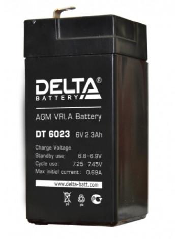 Аккумулятор свинцово-кислотный Delta DT 6023