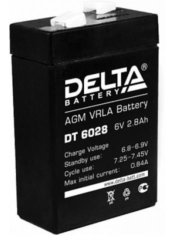 Аккумулятор свинцово-кислотный Delta DT 6028