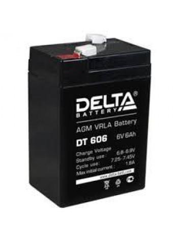 Аккумулятор свинцово-кислотный Delta DT 606