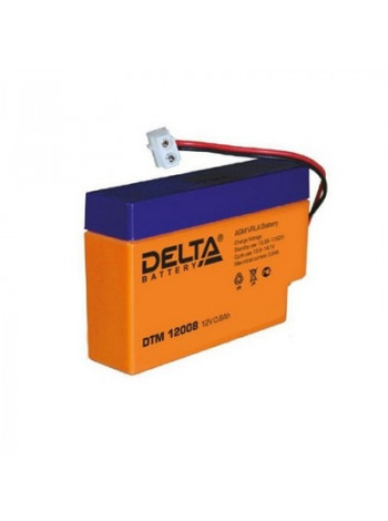 Аккумулятор свинцово-кислотный Delta DTM 12008