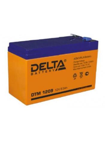 Аккумулятор свинцово-кислотный Delta DTM 1209