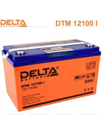 Аккумулятор свинцово-кислотный Delta DTM 12100 I