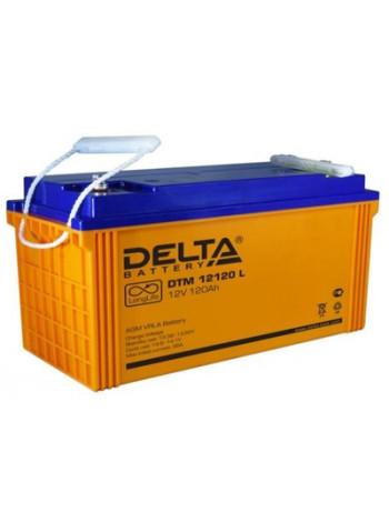 Аккумулятор свинцово-кислотный Delta DTM 12120 L