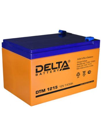 Аккумулятор свинцово-кислотный Delta DTM 1215