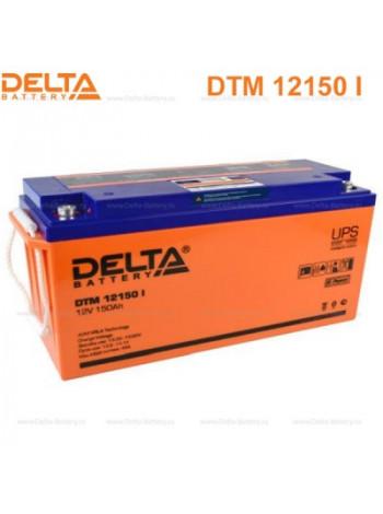 Аккумулятор свинцово-кислотный Delta DTM 12150 I