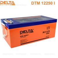 Аккумулятор свинцово-кислотный Delta DTM 12250 I