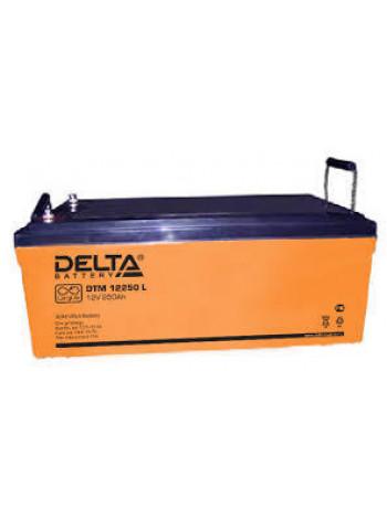 Аккумулятор свинцово-кислотный Delta DTM 12250 L