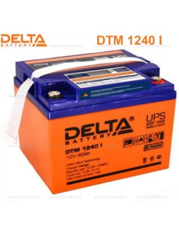 Аккумулятор свинцово-кислотный Delta DTM 1240 I