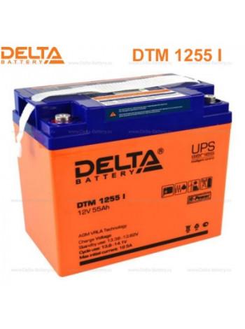 Аккумулятор свинцово-кислотный Delta DTM 1255 I