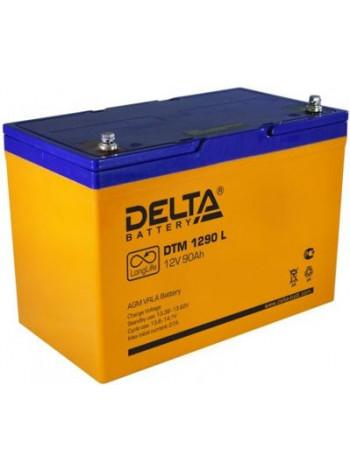 Аккумулятор свинцово-кислотный Delta DTM 1290 L