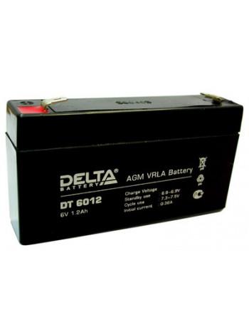 Аккумулятор свинцово-кислотный Delta DTM 607