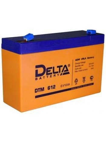 Аккумулятор свинцово-кислотный Delta DTM 612