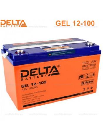 Аккумулятор свинцово-кислотный Delta GEL 12-100