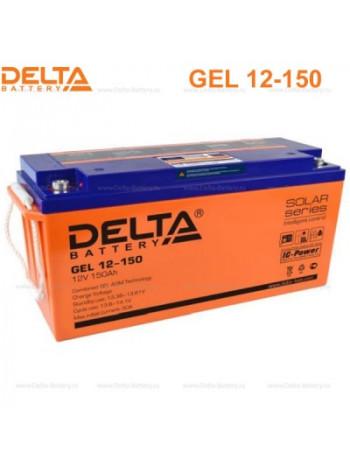 Аккумулятор свинцово-кислотный Delta GEL 12-150