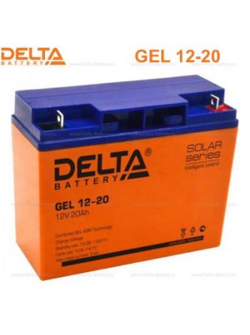 Аккумулятор свинцово-кислотный Delta GEL 12-20