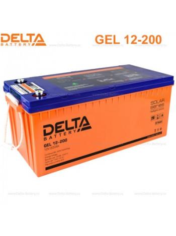 Аккумулятор свинцово-кислотный Delta GEL 12-200