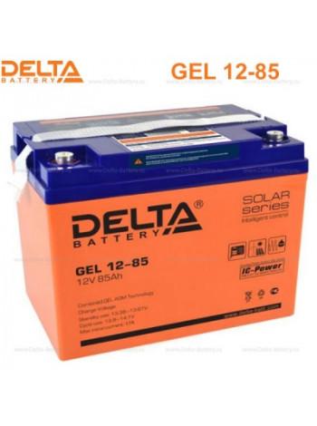 Аккумулятор свинцово-кислотный Delta GEL 12-85