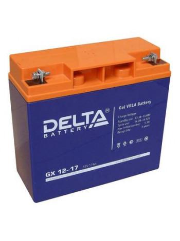 Аккумулятор свинцово-кислотный Delta GX 12-17