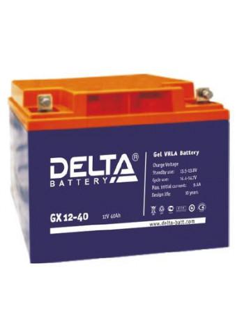 Аккумулятор свинцово-кислотный Delta GX 12-40