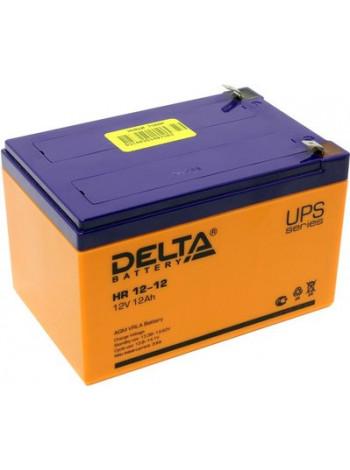 Аккумулятор свинцово-кислотный Delta HR 12-12