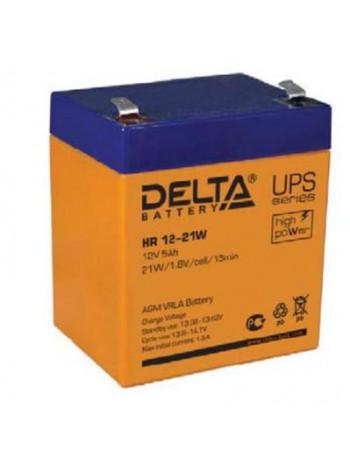 Аккумулятор свинцово-кислотный Delta HR 12-21W