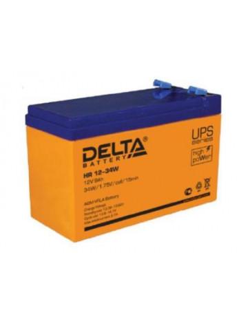 Аккумулятор свинцово-кислотный Delta HR 12-34W