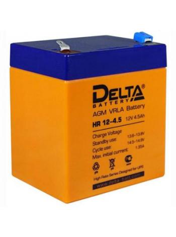 Аккумулятор свинцово-кислотный Delta HR 12-4,5