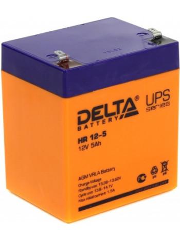 Аккумулятор свинцово-кислотный Delta HR12-5