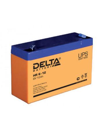 Аккумулятор свинцово-кислотный Delta HR 6-12